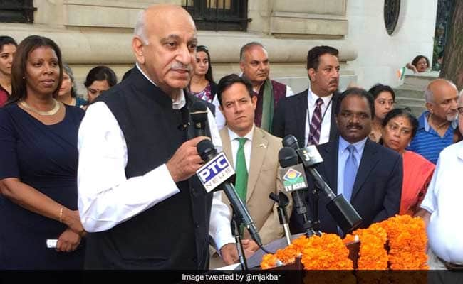Minister MJ Akbar Named In #MeToo, Senior Sushma Swaraj Ducks Question