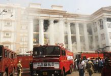 Sabotage suspected in Kolkata hospital fire