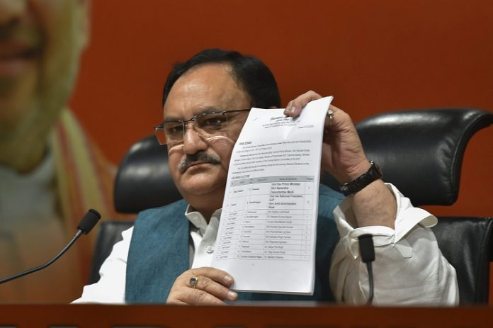 JP Nadda to prevail Amit Shah as BJP President?