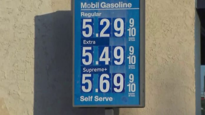 Fuel Prices Attain $5 at Some California Stations, At the side of in Los Angeles Plan – KTLA Los Angeles
