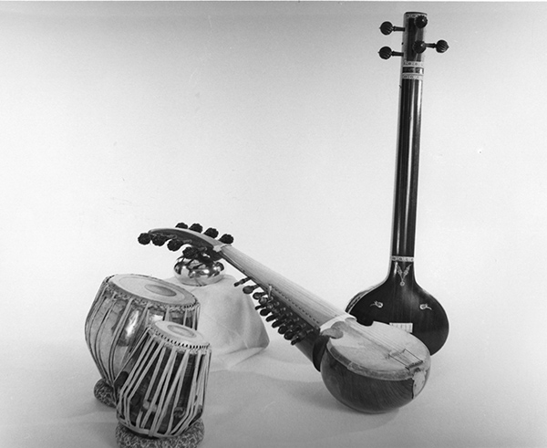classical Indian music instruments