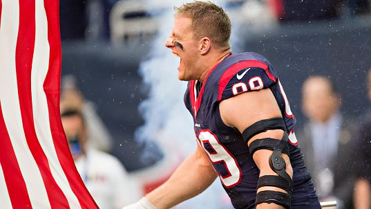 J.J. Watt makes his place on kneeling and the flag crystal certain – NBC Sports – NFL